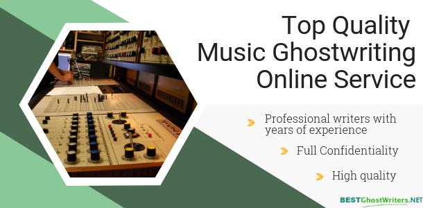 music ghostwriting service
