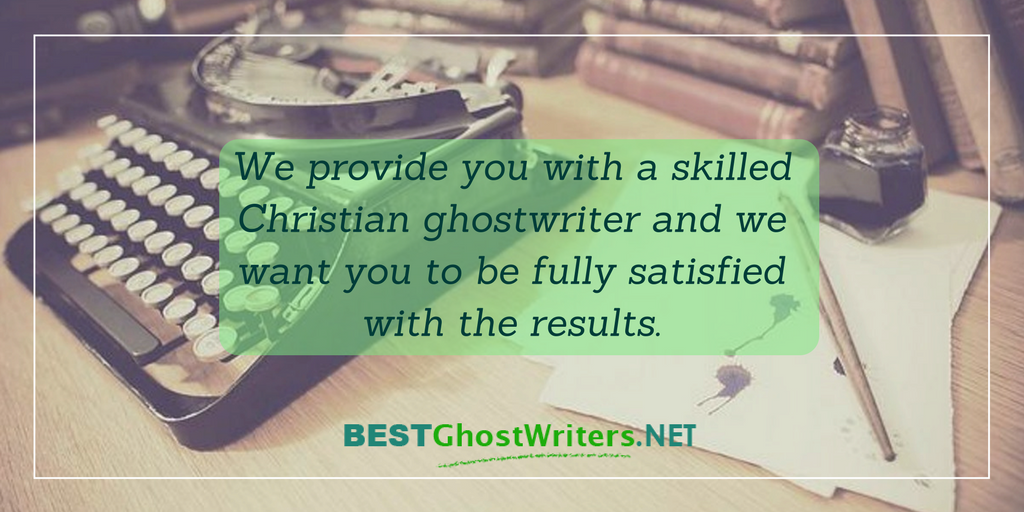 best christian ghost writers