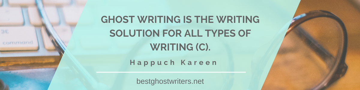 ghostwriting poetry quote