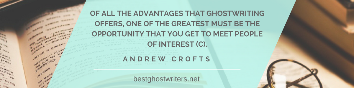 benefits of ghostwriting qoute