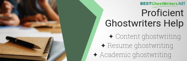 fiction ghostwriter california help