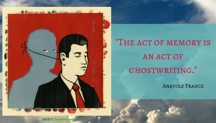 quote about ghostwriting
