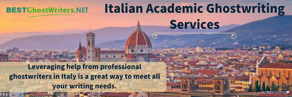 best Italian academic ghostwriting services