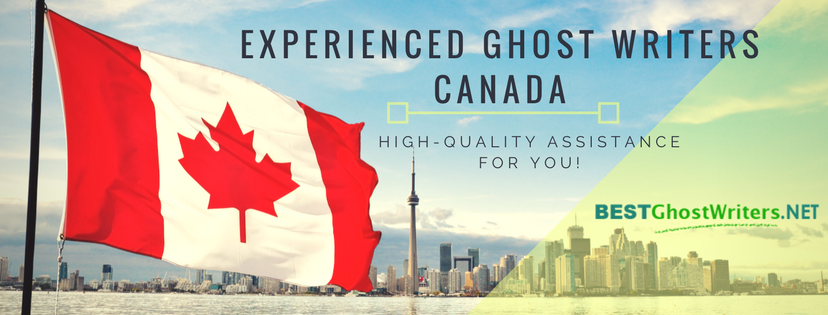 experienced ghost writers canada