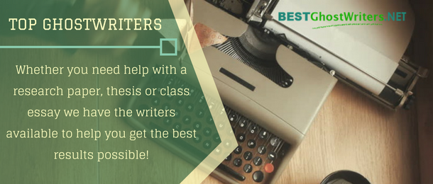 top ghostwriters for you