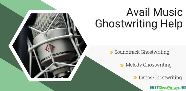 best music ghostwriters