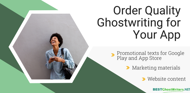 help ghostwriting for apps