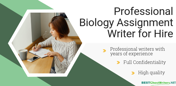 biology ghostwriting service