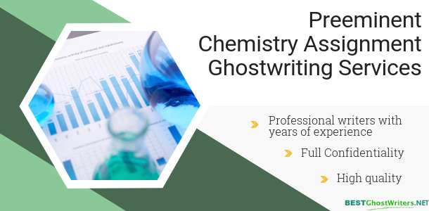 chemistry ghostwriting service