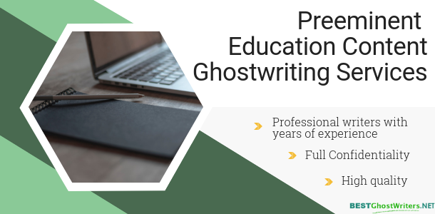 education ghostwriting service