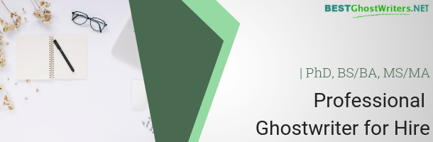 ghost writer service