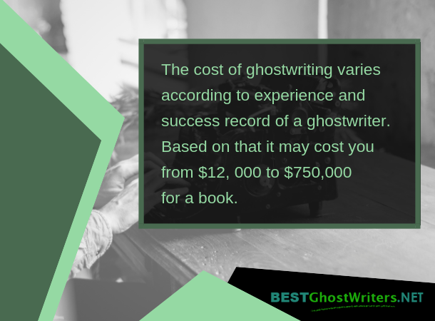 ghostwriter autobiography cost