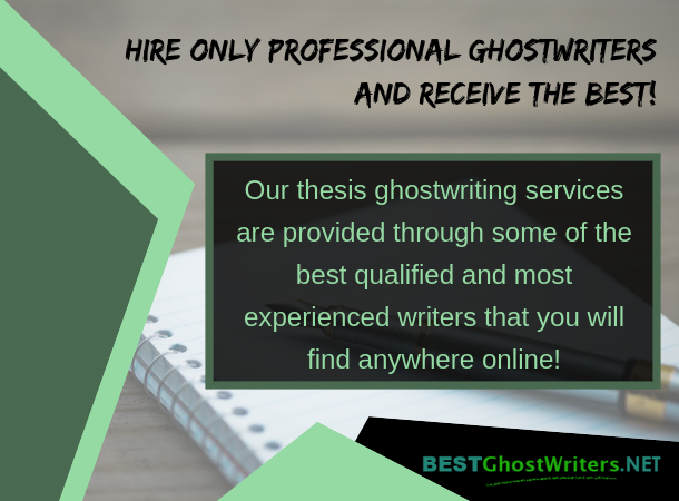 ghostwriter master thesis writing
