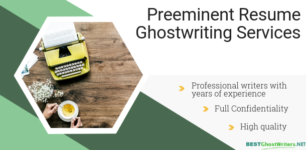 high-quality resume ghostwriting services
