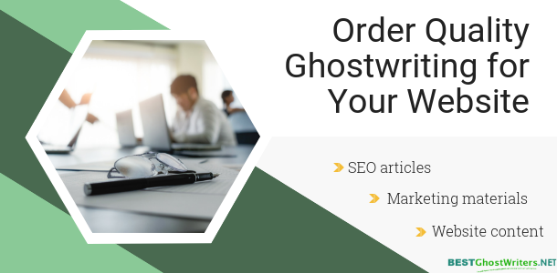 order article ghostwriting