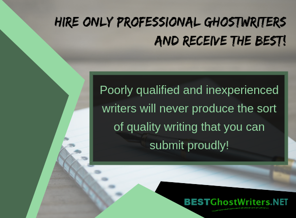 professional ghostwriters for hire
