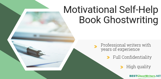 qualified ghost writer for self-help book