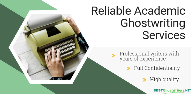 reliable academic ghostwriting services