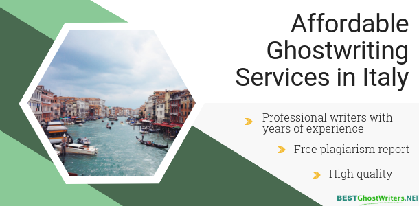 cheap ghost writers in italy help