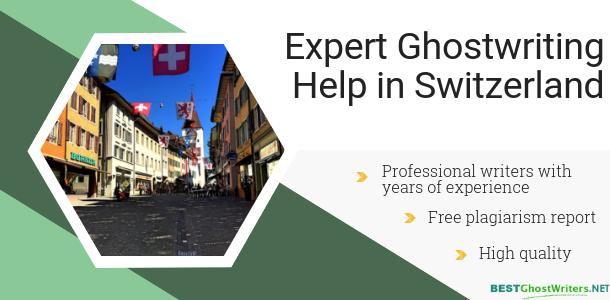 professional switzerland ghostwriter