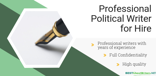 political ghostwriting writing service