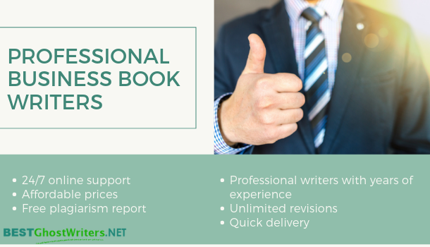 professional business book ghostwriting services