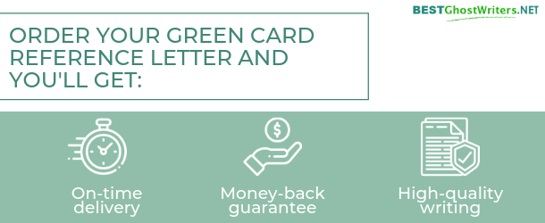 Green Card Reference Letter | EB1 & O1 Visa Application Help