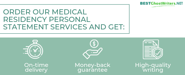online medical residency personal statement services